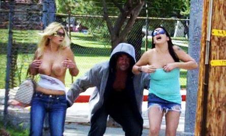 Bikini sharking public violations